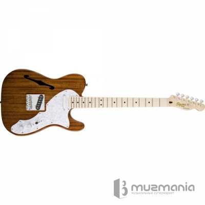 Электрогитара FENDER SQUIER Classic Vibe Telecaster Thinline - MN - Natural