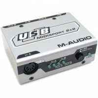 Мidi интерфейс M-audio USB Midisport 2x2
