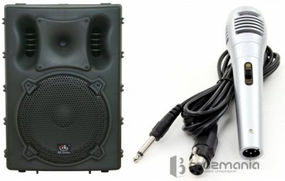 Активная колонка HL AUDIO B12A USB + микрофон