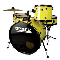 Ударная установка PEACE Demolition MAX DP-24DL-5 Yellow