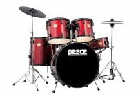 Ударная установка PEACE Demolition MAX DP-24DL-5 Wine Red