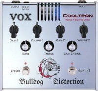 Педаль для электрогитары VOX COOLTRON BULLDOG DISTORTION